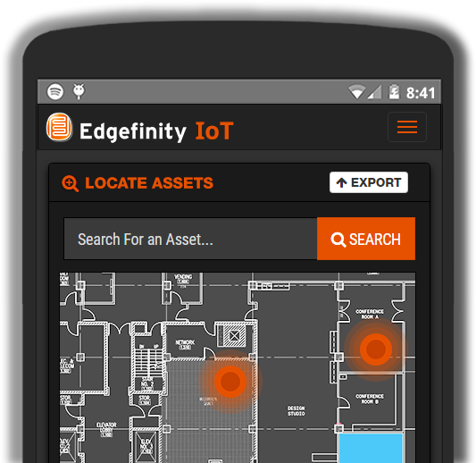 Real time asset tracking from any device.