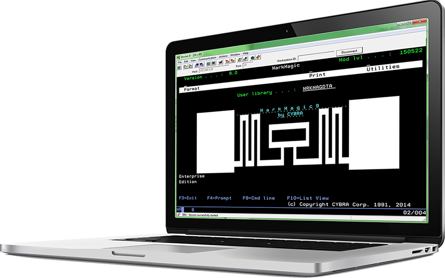 MarkMagic barcode software for the IBM Power Systems i