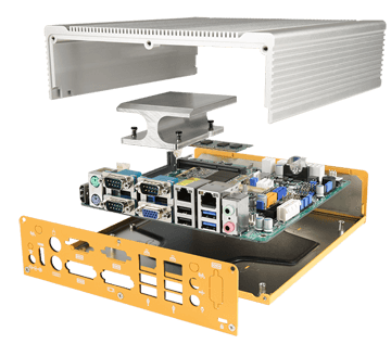 The Edgefinity IoT EdgeBox Controller is the perfect dust resistant, ruggedized server for your warehouse or retail floor.