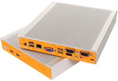 The Edgefinity IoT EdgeBox Controller can connect to many different inventory management systems