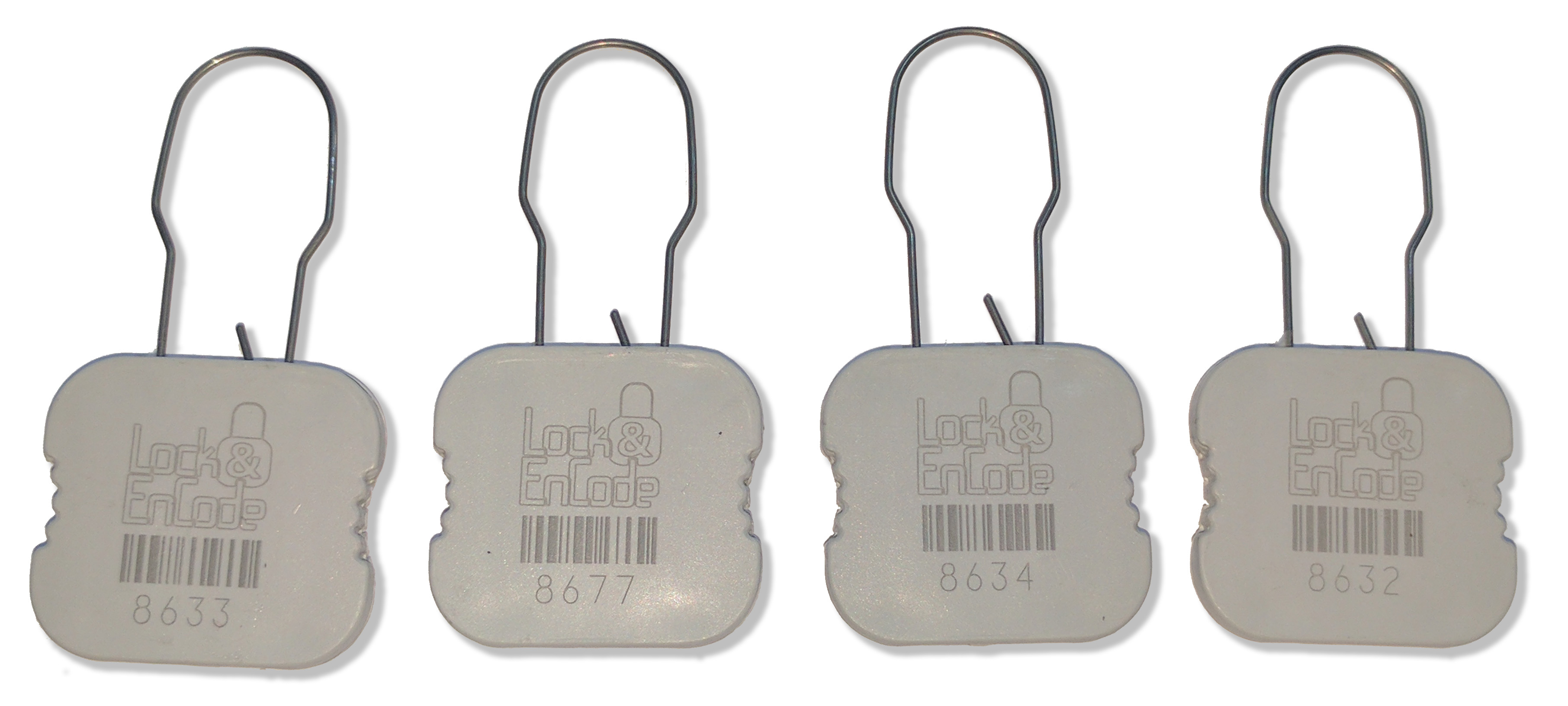 CYBRA RFID locking seals are tamper evident, rugged, and inexpensive.