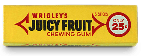 Juicy Fruit gum was the first item ever to be scanned with a barcode