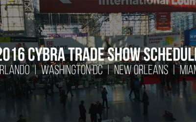 CYBRA's 2016 Trade Show Schedule