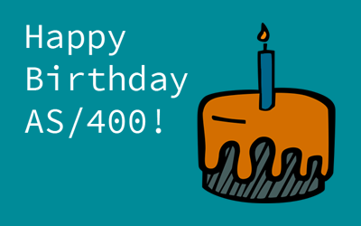 Happy Birthday AS/400!