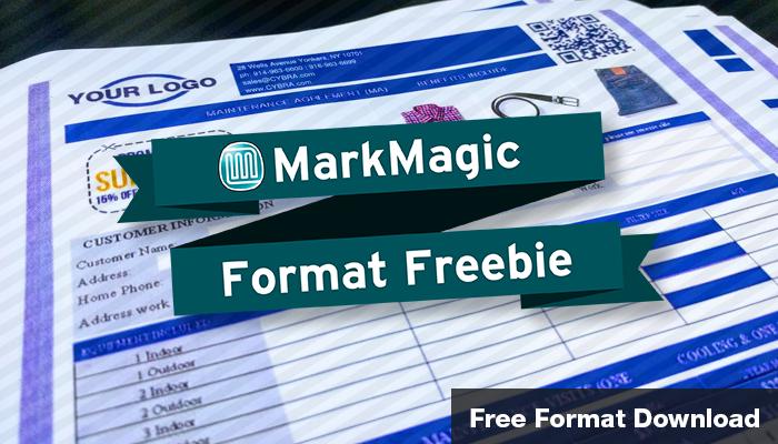 MarkMagic Freebie (Full Color Form)