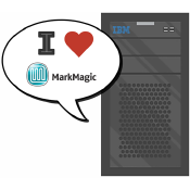 MarkMagic runs natively on the AS/400.