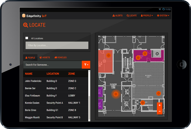 Real time tracking software allows you to see the latest location of personnel, assets, and equipment.