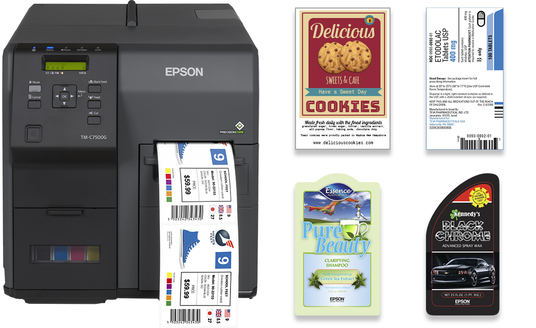 MarkMagic 9.5 now supports Epson color label printing.