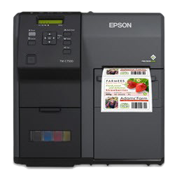 Epson ColorWorks C7500GE Color Label Printer