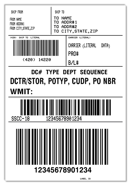 Develop WMIT shipping labels with MarkMagic within your Manhattan WMi license.