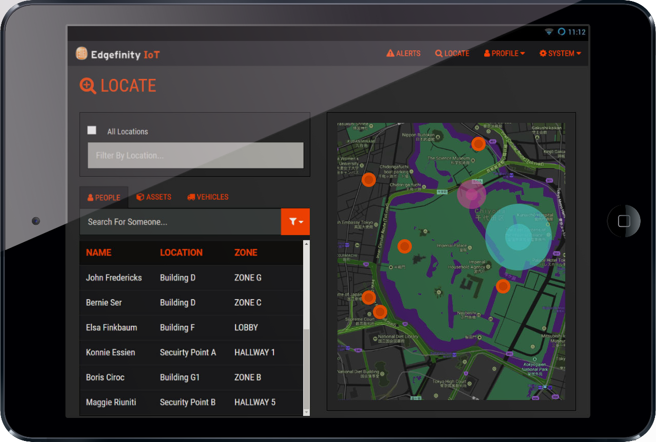 Edgefinity IoT offers real time asset tracking and personnel monitoring for military operations.