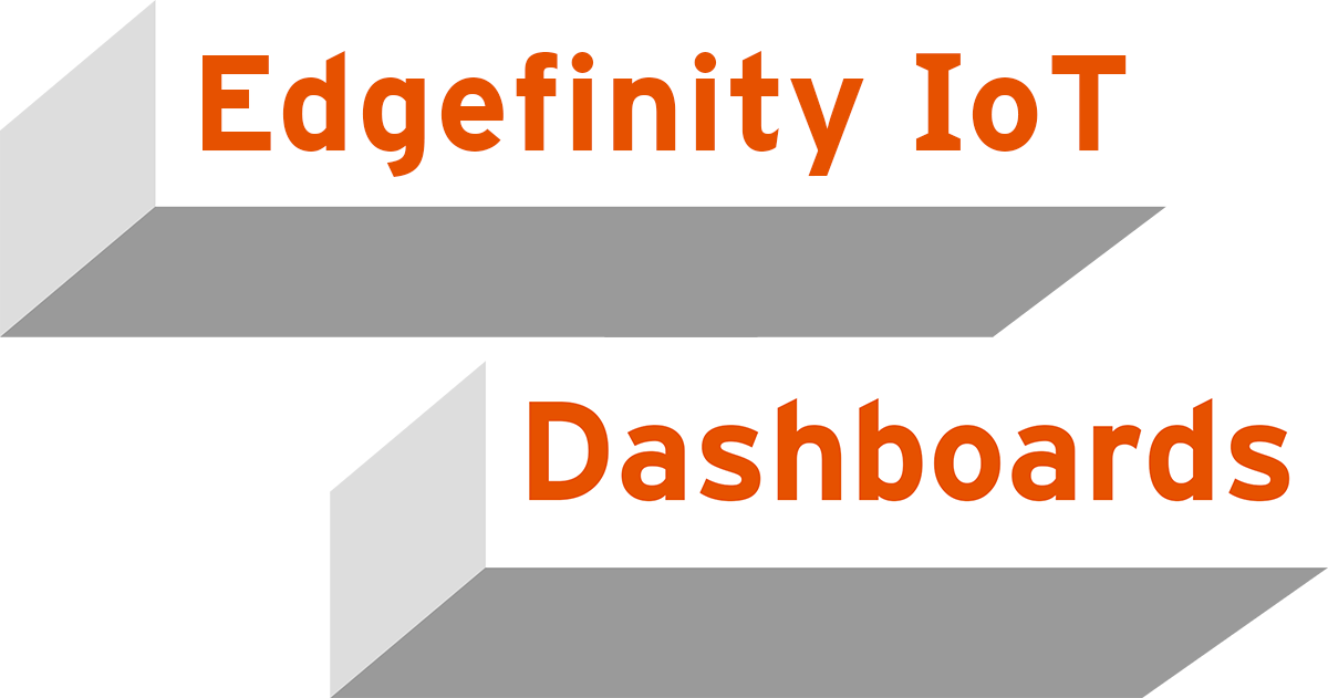 Get a handle on your RFID data with Edgefinity IoT RFID software dashboards.