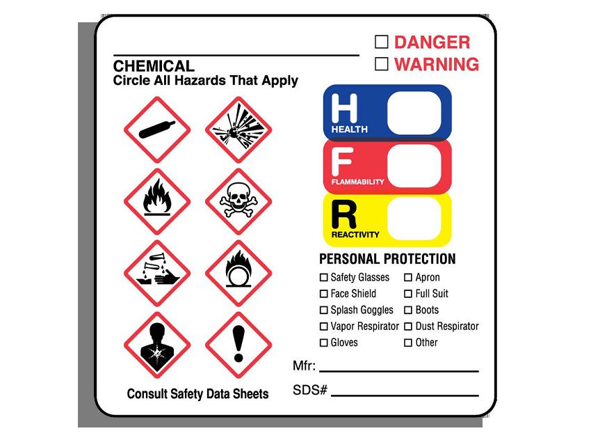 GHS-Compliant HazCom Labeling