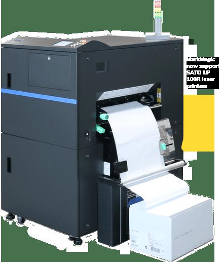 MarkMagic now supports SATO LP 100R laser printers