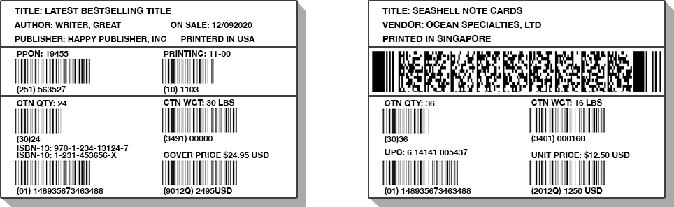 Change Barcodes and Make Text Fields Disappear From One Label to the Next!