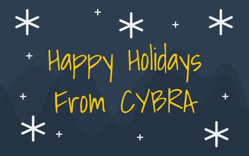 Happy Holidays from CYBRA