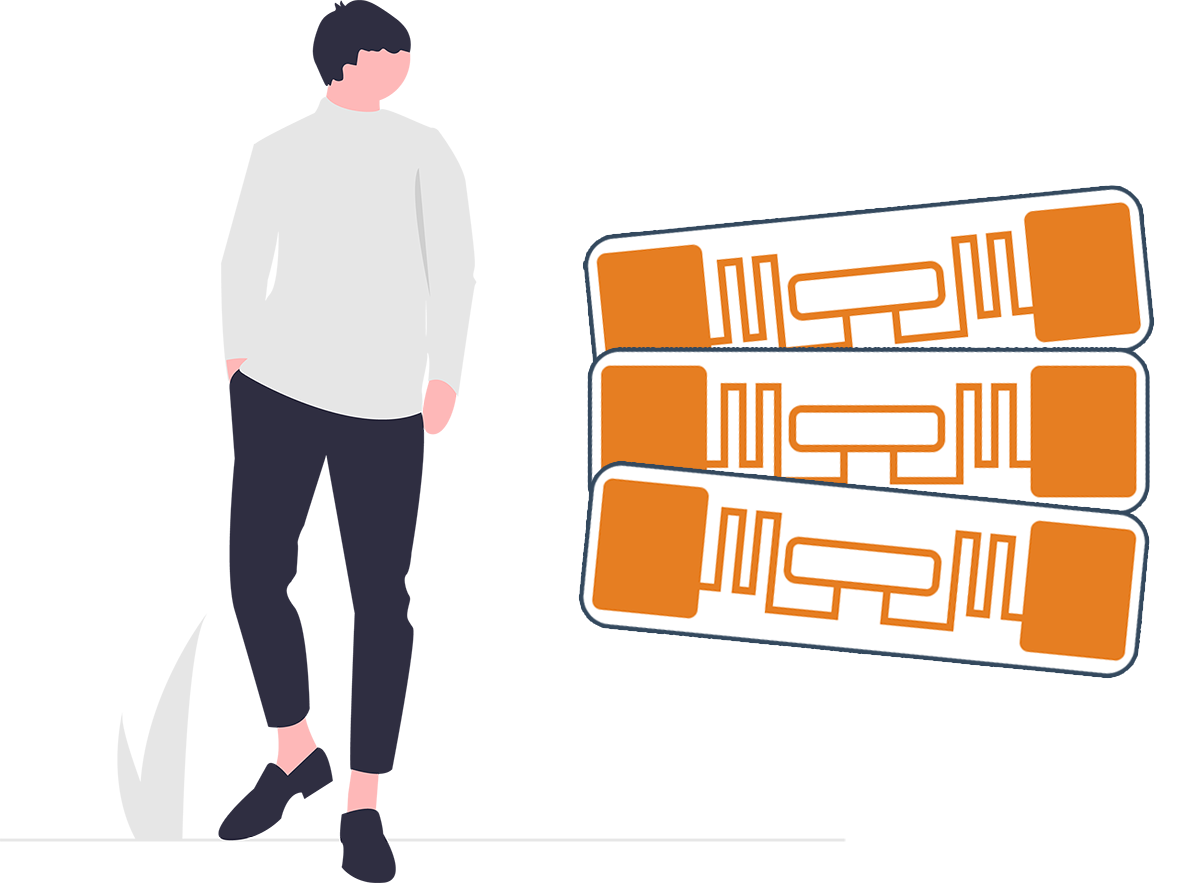 Add RFID tags to your forms and labels