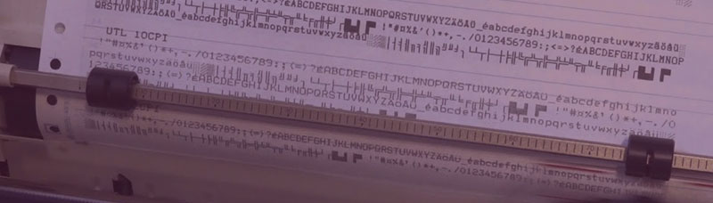 Dot Matrix Printer Applications