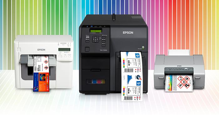 Epson ColorWorks Color Label Printers